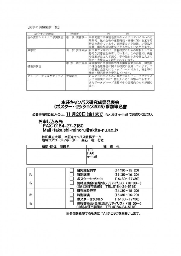 メール 秋田 県立 大学